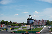June 8, 2014: Canadian Grand Prix at Circuit Gilles Villeneuve. Race restart for the Canadian Grand Prix