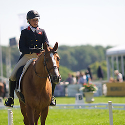CCI*** Dressage Leader Izzy Taylor and Orlando  Score 28.1%