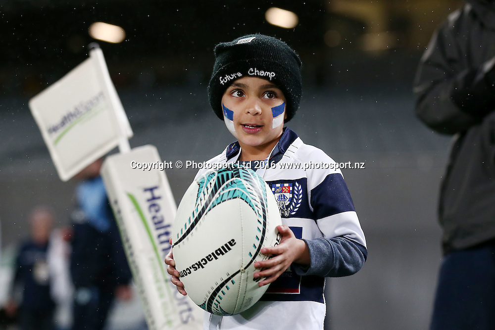 Ball delivery. Auckland v Northland, Mitre 10 Cup, rugby union national provincial championship, Eden Park, Auckland. 26 August 2016. © Copyright Image: www.photosport.nz