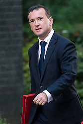 © Licensed to London News Pictures. 12/09/2017. London, UK. Secretary of State for Wales ALUN CAIRNS arrives at 10 Downing Street in London ahead of a cabinet meeting.  In the early hours of this morning government won a vote in Commons passing the EU repeal bill, by a margin of 326 to 290 votes. Photo credit: Ben Cawthra/LNP