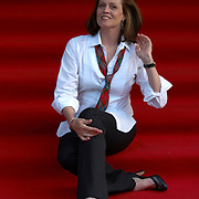 "Actress Sigourney Weaver at the premiere of her movie ""Snow Cake"" at the Edinburgh International Film festival 2006<br />"