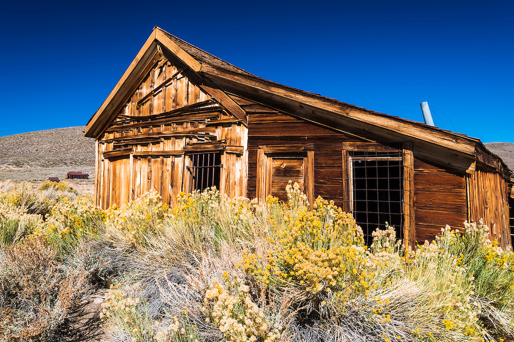 The Bodie Jail, Bodie State Historic Park, California USA