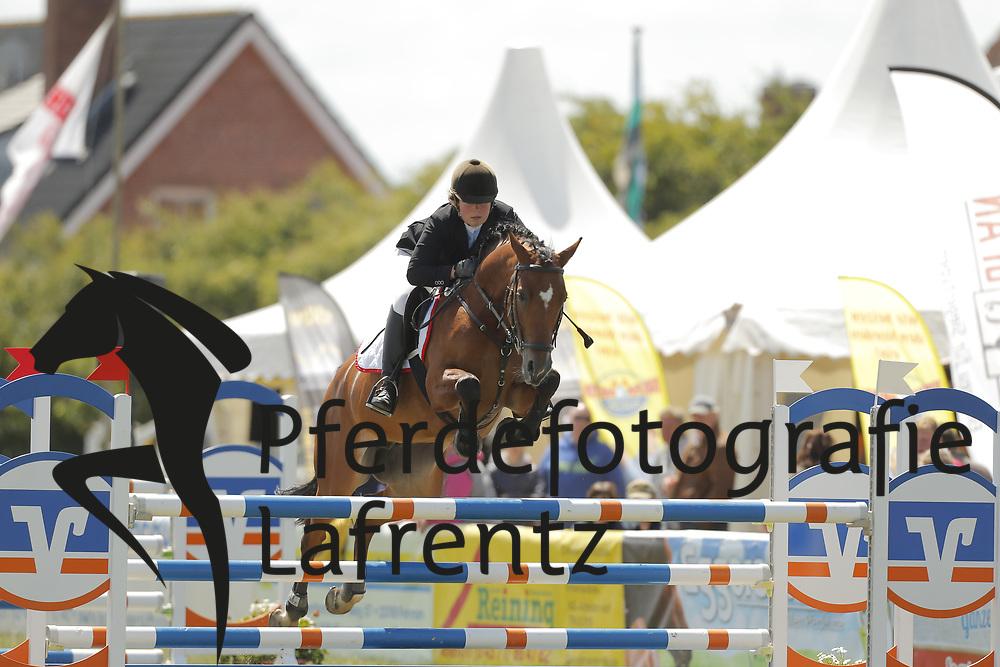 Reimers, Ina, Cosma Viva<br /> Fehmarn - Pferdefestival 2014<br /> Nationales Springen<br /> © www.sportfotos-lafrentz.de/ Stefan Lafrentz