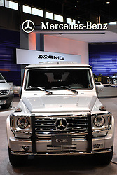 08 February 2012: Mercedes Benz G Class SUV Chicago Auto Show, Chicago Automobile Trade Association (CATA), McCormick Place, Chicago Illinois
