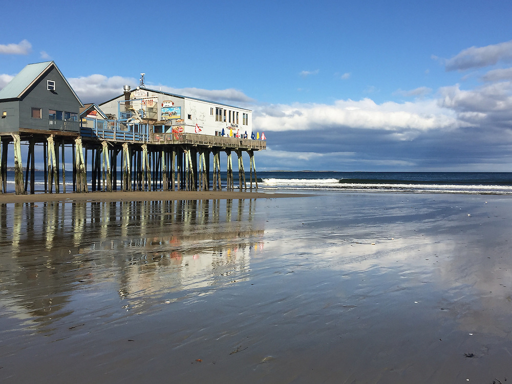 Old Orchard Beach Pier, Maine