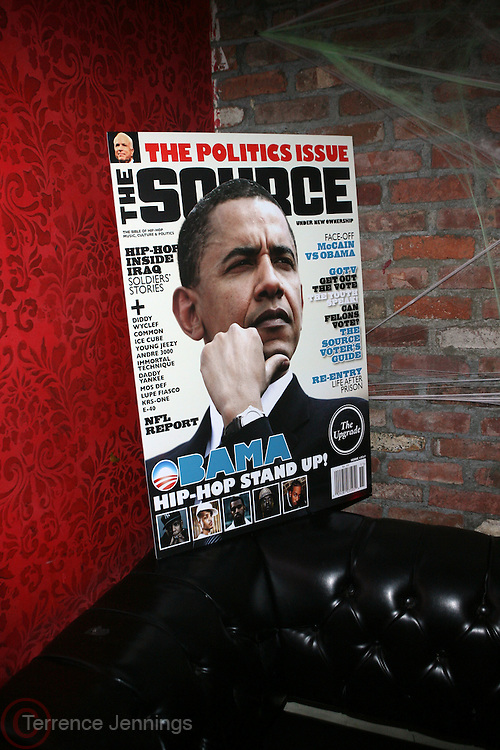 """Atmosphere at The Russell Simmons and Spike Lee  co-hosted """"I AM C.H.A.N.G.E!"""" Get out the Vote Party presented by The Source Magazine and The HipHop Summit Action Network held at Home on October 30, 2008 in New York City"""