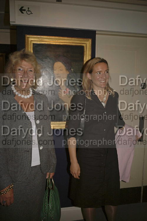 Lady Clifford and Pandora Clifford. The opening  day of the Grosvenor House Art and Antiques Fair.  Grosvenor House. Park Lane. London. 14 June 2006. ONE TIME USE ONLY - DO NOT ARCHIVE  © Copyright Photograph by Dafydd Jones 66 Stockwell Park Rd. London SW9 0DA Tel 020 7733 0108 www.dafjones.com