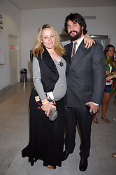 BAY GARNETT and TOM CRAIG at a reception hosted by Vogue magazine to launch photographer Tim Walker's book 'Pictures' sponsored by Nude, held at The Design Museum, Shad Thames, London SE1 on 8th May 2008.<br />
