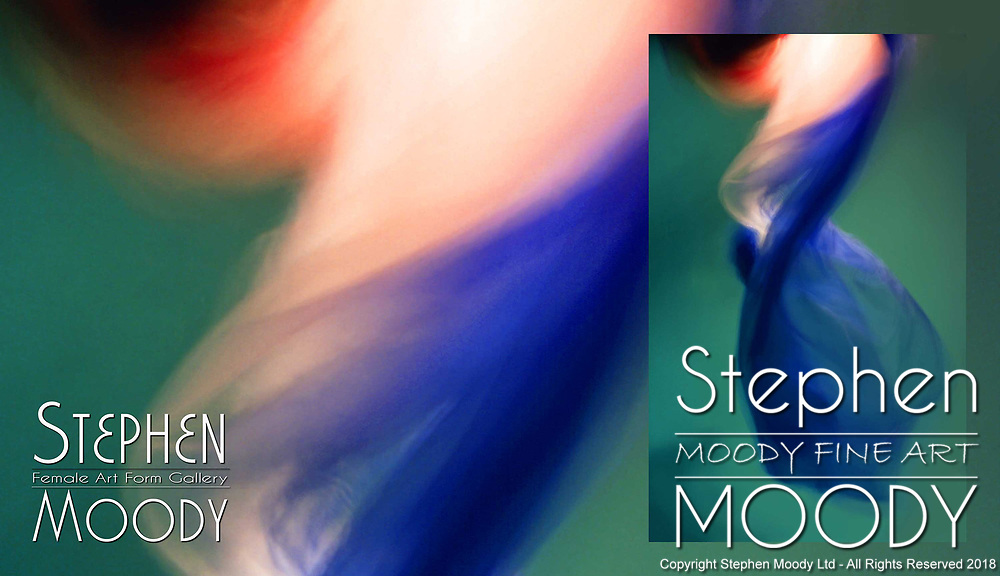 Mermaid - Abstract Art of the Female Form created by artist Stephen Moody of Scottsdale, AZ.  Large wall art for businesses, hospitality industry, interior designers and individual collectors.