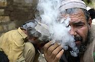 Peshawar heroin addict