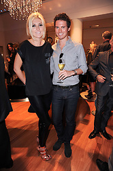 CHRISTOPHER WOLFF and ANASTASIA LENGLET at a party to celebrate the B.zero 1 design by Anish Kapoor held at Bulgari, 168 New Bond Street, London n 2nd June 2010.
