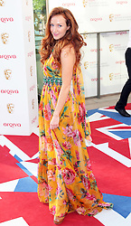 Olivia Grant arriving at the British Academy Television Awards in London on Sunday, May 27th 2012.  Photo by: Stephen Lock / i-Images
