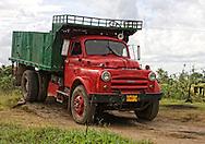 Truck near Bahia Honda, Artemisa, Cuba.