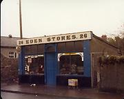 Old Dublin Amature Photos December 1983 with, Capel St, Cuckoo Lane, Tramoheads, Dartry, St Michaels School, Shop Dunlaoire, Thomas St, Cornmarket, Dublin Cartll, St Muhans Gates, Church St, Quinns Butchers, High St, eden stores,