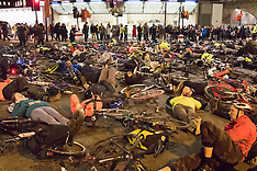 2015-11-27 London cyclists stage No More Coffins Die-in protest