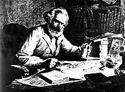 Karl Marx at work. Karl Marx (1818-1883) Father of modern Communism. German political, social and economic theorist