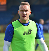 Chris Hussey before the Sky Bet League 1 match between Bury and Port Vale at Gigg Lane, Bury, England on 19 September 2015. Photo by Mark Pollitt.