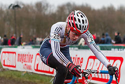 Amira Mellor (GBR), Women, Cyclo-cross World Cup Hoogerheide, The Netherlands, 25 January 2015, Photo by Pim Nijland / PelotonPhotos.com