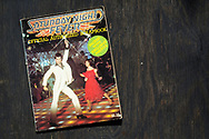 London, England - June 15, 2017: Saturday Night Fever Official Authorized Scrapbook from the film launched in 1977, Starring John Travolta and Karen Lynn Gorney