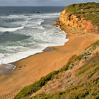 Famous Surfing Beaches in Torquay on Great Ocean Road, Australia<br />