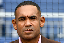 May 6, 2018 - Washington, DC, U.S. - WASHINGTON, DC - MAY 06:  Former NBA player and Hall of Fame Member, Grant Hill is inducted into the Washington Sports Hall of Fame prior to the game between the Philadelphia Phillies and the Washington Nationals on May 6, 2018, at Nationals Park, in Washington D.C.  The Washington Nationals defeated the Philadelphia Phillies, 5-4.  (Photo by Mark Goldman/Icon Sportswire) (Credit Image: © Mark Goldman/Icon SMI via ZUMA Press)