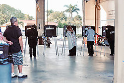 Voters in Hialeah, Fla., cast their midterm ballets at Precinct 317 firestation Tuesday, November 6, 2018. Photo by C.M. Guerrero/Miami Herald/TNS/ABACAPRESS.COM