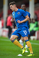 James Bolton of Shrewsbury Town warms up ahead of during the EFL Sky Bet League 1 match between Walsall and Shrewsbury Town at the Banks's Stadium, Walsall, England on 7 October 2017. Photo by Darren Musgrove.