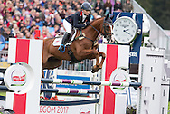 Holly Woodhead (GBR) & DHI Lupison - Jumping - Longines FEI European Eventing Chamionship 2015 - Blair Athol, Scotland - 13 September 2015