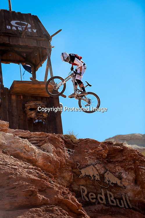 Cam Zink Icon Sender 360 Drop at 2010 Red Bull Rampage