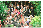 Spectator  Summer party. Doughty St. 7/6/2000. SUPPLIED FOR ONE-TIME USE ONLY> DO NOT ARCHIVE. © Copyright Photograph by Dafydd Jones 66 Stockwell Park Rd. London SW9 0DA Tel 020 7733 0108 www.dafjones.com