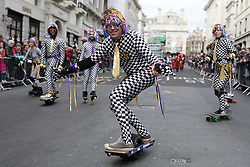 © Licensed to London News Pictures. 01/01/2019. London, UK. The London New Year's Day Parade. More than 8,000 performers from 26 countries are taking part in the parade. Photo credit: Rob Pinney/LNP