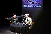Nederland, Nijmegen, 7-3-2015Het boekenfeest is de Nijmeegse versie van het boekenbal. Georganiseerd door de wintertuin in concertgebouw de Vereeniging. Hoofdgasten dit jaar waren Dimitri Verhulst, Tjitske Jansen en Jelle Brandt Corstius.Foto: Flip Franssen/Hollandse Hoogte