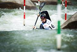 Eva Tercelj during the Kayak Single (K1) Women race of Tacen Cup 2020 on May 24, 2020 in Tacen, Ljubljana, Slovenia. Photo By Grega Valancic / Sportida