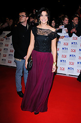 Jacqueline Jossa at the National Television Awards held in London on Wednesday, 25th January 2012. Photo by: i-Images