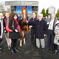 John Louis and winning connections for the 12.50 race