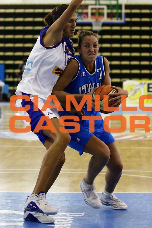 DESCRIZIONE : Chieti Torneo Internazionale Basket Femminile 10 Nazioni Italia Serbia Montenegro<br /> GIOCATORE : Ramon<br /> SQUADRA : Italia<br /> EVENTO : Torneo Internazionale Basket Femminile 10 Nazioni<br /> GARA : Italia Serbia Montenegro<br /> DATA : 22/08/2006<br /> CATEGORIA : Penetrazione<br /> SPORT : Pallacanestro<br /> AUTORE : Agenzia Ciamillo-Castoria/L.Lussoso<br /> Galleria : FIP Nazionale Italiana<br /> Fotonotizia : Chieti Torneo Internazionale Basket Femminile 10 Nazioni Italia Serbia Montenegro<br /> Predefinita :