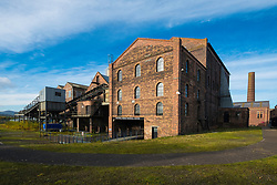 The National Mining Museum at Newtongrange in Scotland, United Kingdom.