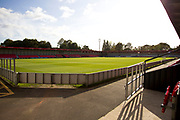 Salford City FC (general view of the Stadium) before the EFL Sky Bet League 2 match between Salford City and Grimsby Town FC at Moor Lane, Salford, United Kingdom on 17 September 2019.