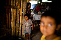 In the countryside of the Guatemalan city, Esquintla, many families lost almost two years of maize crops due to extreme rainstorms and drought, and with the 40 percent rise in the cost of corn, most cannot afford to buy enough to feed their families. Wednesday, July 28, 2011. Despite being the world's fifth largest exporter of sugar, coffee and bananas, Guatemala has the highest rate of child malnutrition in Latin America.