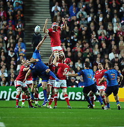 Canada lose the line out   - Mandatory byline: Joe Meredith/JMP - 07966386802 - 01/10/2015 - Rugby Union, World Cup - Stadium:MK -Milton Keynes,England - France v Canada - Rugby World Cup 2015