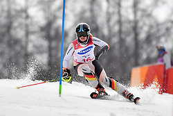 ROTHFUSS Andrea LW6/8-2 GER competing in the ParaSkiAlpin, Para Alpine Skiing, Slalom at the PyeongChang2018 Winter Paralympic Games, South Korea.