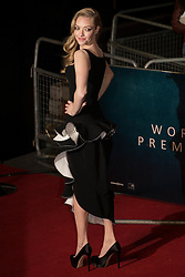 © licensed to London News Pictures. London, UK 05/12/2012. Amanda Seyfried attending World Premiere of Les Miserables in Leicester Square, London. Photo credit: Tolga Akmen/LNP