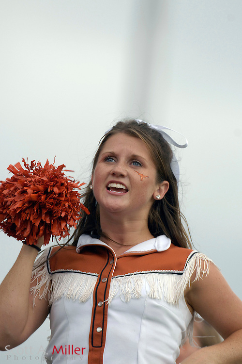 Sept. 15, 2007; Orlando, FL, USA; A Texas Longhorns cheerleaders during her team's game against the Central Florida Knights at Bright House Stadium. Texas won the game 35-32...©2007 Scott A. Miller