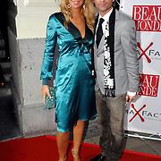 NLD/Amsterdam/20061018 - Uitreiking Beau Monde Awards 2006, Estelle Gullit - Cruyff en Erik Kusters