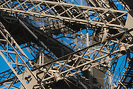 France. Paris. 7th district.  the Eiffel tower, la tour Eiffel