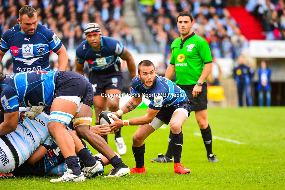 Benoit PAILLAUGUE  - 11.04.2015 - Racing Metro / Montpellier  - 22eme journee de Top 14 <br />