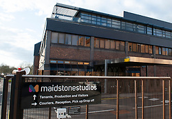 ©Licensed to London News Pictures 02/03/2020<br /> Maidstone, UK. Maidstone Studios site. A member of staff working at a business on the Maidstone studios site in Maidstone, Kent has tested positive for Coronavirus. Its the first confirmed case in Kent. Photo credit: Grant Falvey/LNP