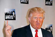 """Donald Trump attends the """"All-Star Celebrity Apprentice"""" press conference at Jack Studios in New York City, New York on October 12, 2012."""