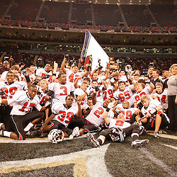 2008 December 13: During the Class 4A LHSAA State Championship game, between the Belle Chasse Cardinals and the Archbishop Shaw Eagles at the Louisiana Superdome in New Orleans, LA (photo by Derick Hingle/Nola.com)