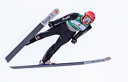 13.01.2019, Stadio del Salto, Predazzo, ITA, FIS Weltcup Nordische Kombination, Skisprung, im Bild Fabian Riessle (GER) // Fabian Riessle of Germany during Skijumping Competition of FIS Nordic Combined World Cup at the Stadio del Salto in Predazzo, Italy on 2019/01/13. EXPA Pictures © 2019, PhotoCredit: EXPA/ JFK